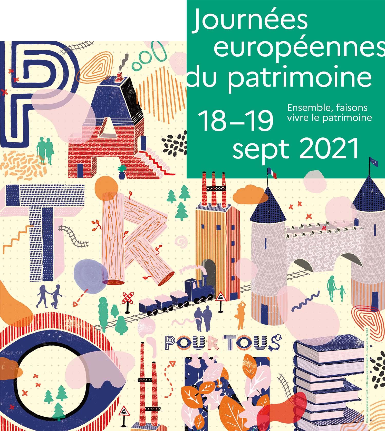 Journées Européennes du Patrimoine 2021, Aquilon, château de Versigny, tourisme Valois